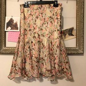 NWT Lauren Ralph Lauren floral skirt size small
